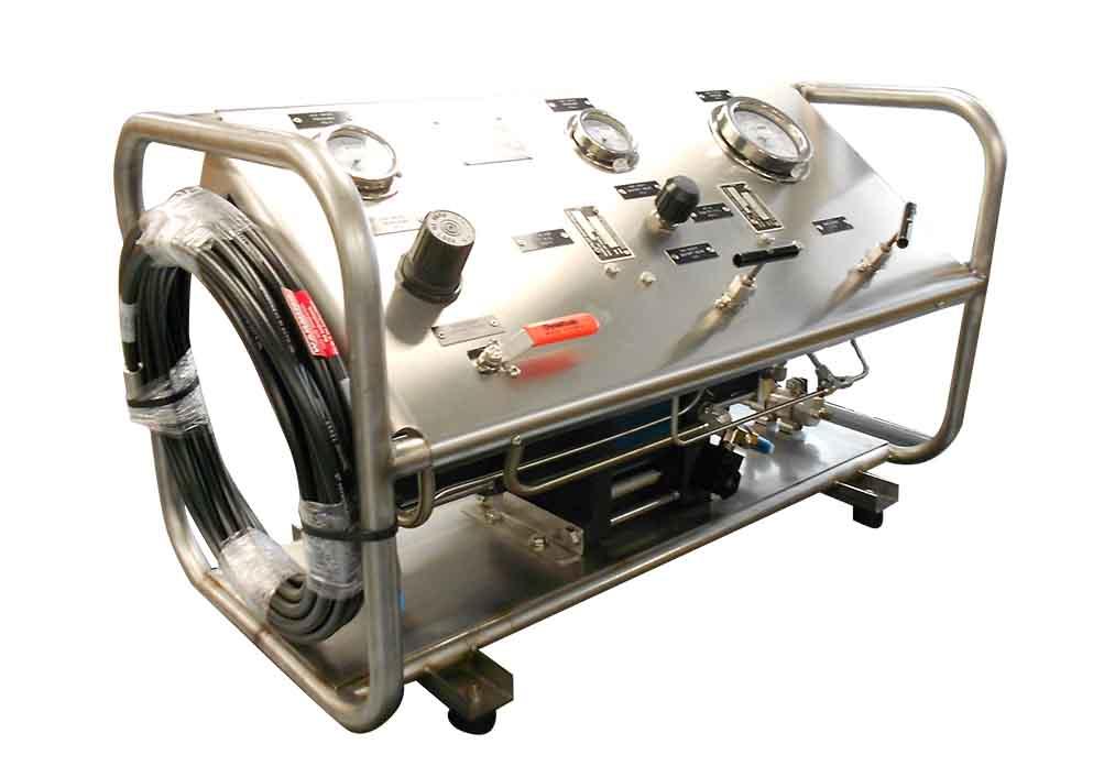 Air Driven Air Pressure Amplifiers