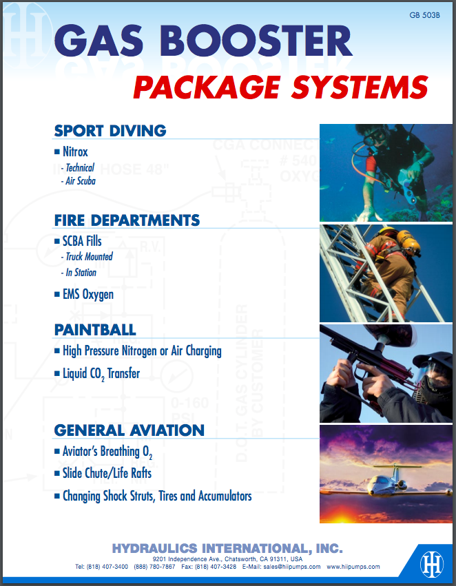 Gas Booster Package Systems